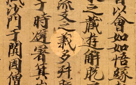 Lank - Tang - Dunhuang Mss Or.8210 - S.6 - 2